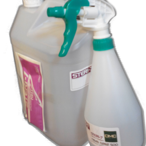 Steri kit comprising sachet of Steri-7, 5 litre flagon and trigger spray